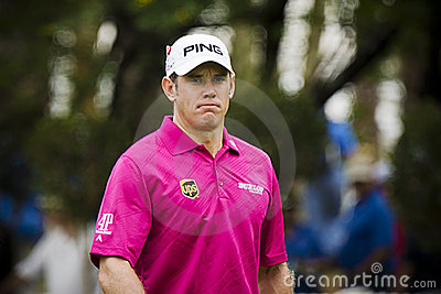 Lee Westwood - NGC2011 Editorial Stock Photo