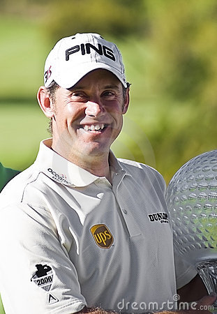 Lee Westwood - Winner - NGC2010 Editorial Image