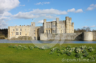 Leeds Castle in Kent, United Kingdom