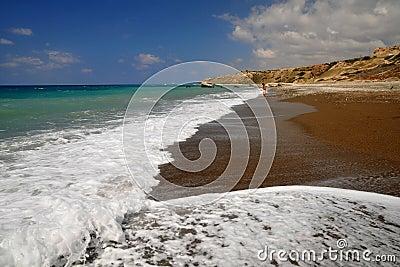 Leeg strand