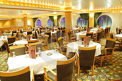 Leere Gaststätte