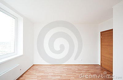 leerer raum mit fenster lizenzfreies stockbild bild 22453626. Black Bedroom Furniture Sets. Home Design Ideas