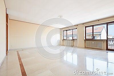 leeres wohnzimmer mit innenmarmorboden - Marmorboden Wohnzimmer