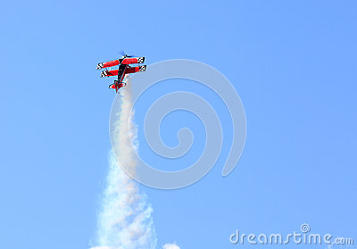 Leesburg Airshow Airborne Plane Editorial Stock Photo