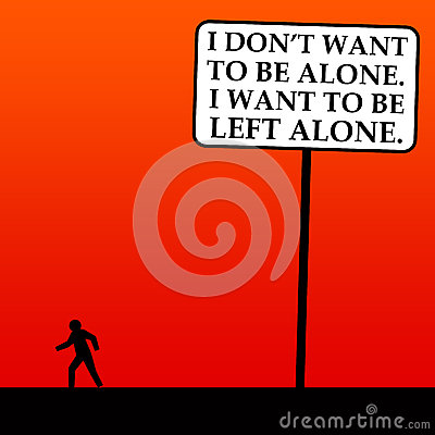 Free Left Alone Stock Photography - 28958552