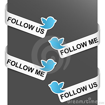Free Left And Right Side Signs - Follow Me Stock Photo - 21210940