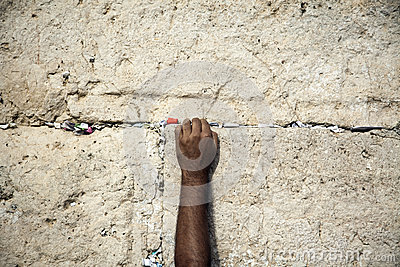 Making a Wish at the Wailing Wall