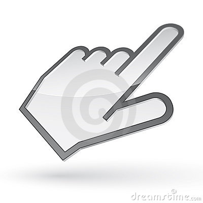 Free Left-handed Cursor Royalty Free Stock Image - 21273756