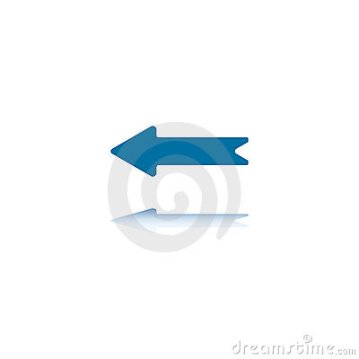 Left Straight Arrow