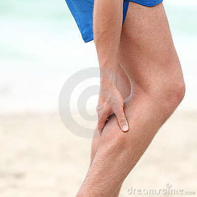 Free Leg Calf Sport Muscle Injury Royalty Free Stock Photo - 23507425