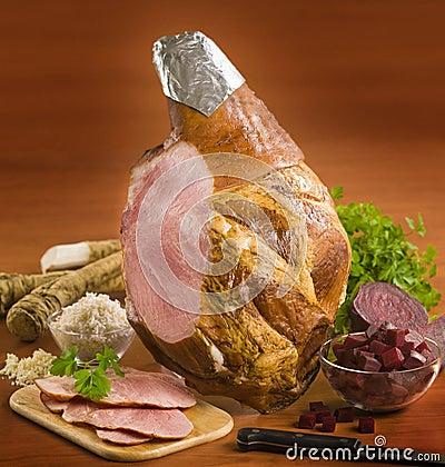 Leg of ham