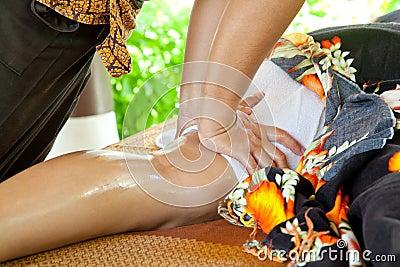 Leg Oil Massage Spa