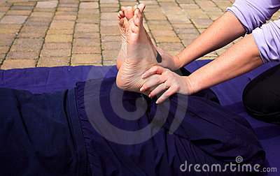 Leg stretch