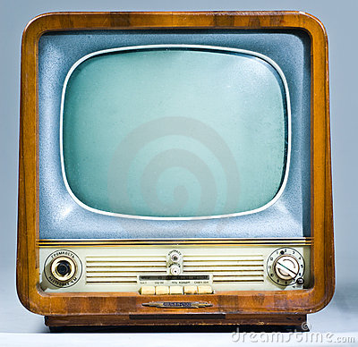 Legacy Soviet Television Set