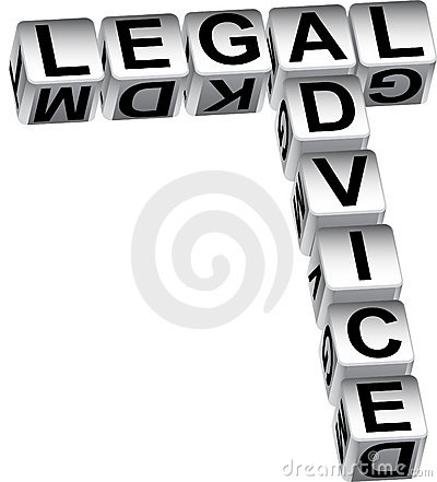 Free Legal Advice Dice Royalty Free Stock Image - 11528776
