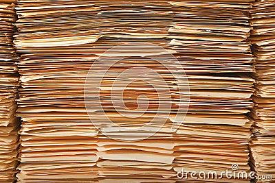 Legal File Pile