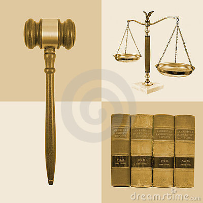Legal Law Justice Collage
