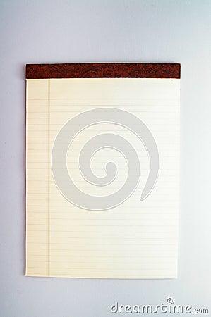 Legal pad