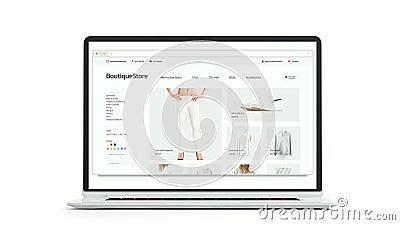 Lege browser manierplaats op laptop en telefoonaanpasbaarheidsmodel vector illustratie