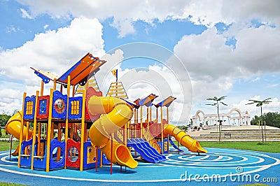 Lege speelplaats