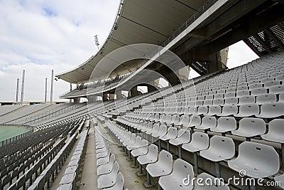 Lege Zetels bij het Stadion