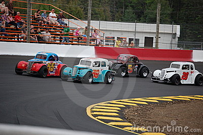 Legend Car Racing Editorial Photo