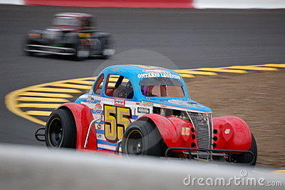 Legend Car Racing Editorial Image