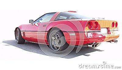Legendary American sports car