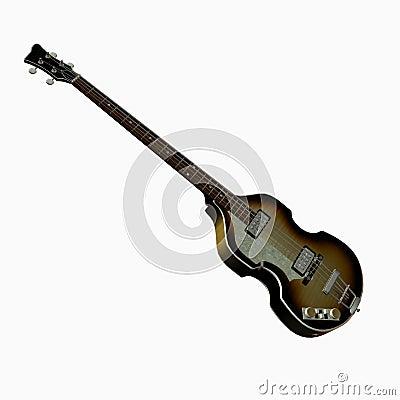 Legendary Beatles Bass Guitar