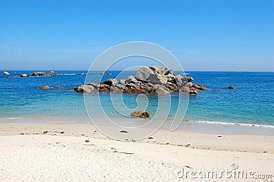 Legendary coast, bretagne, france