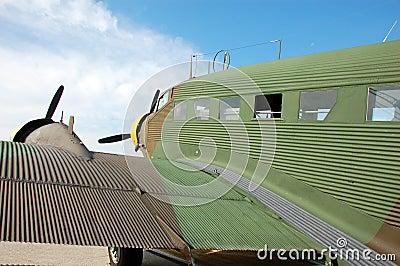 Legendary Junkers 52 aircraft