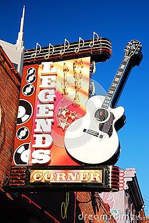 Free Legends Corner, Nashville Stock Image - 74784891