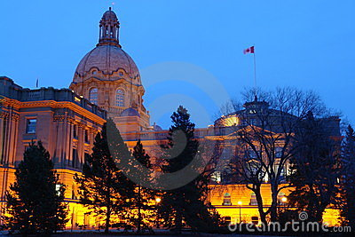 Legislative building nightshot