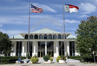 Legislative building, Raleigh, North Carolina. Editorial Stock Photo