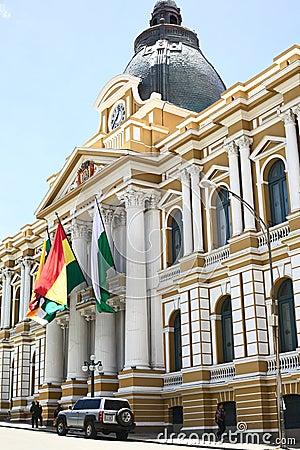 Legislative Palace, The Seat Of The Government In La Paz ...