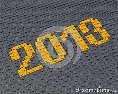 Lego 2013 fonts