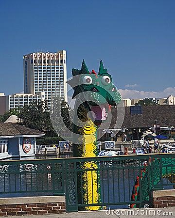 迪斯尼龙lego市场 图库摄影片