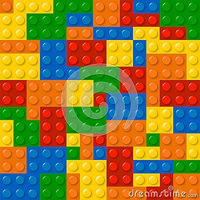 Lego Blocks Vector Illustration