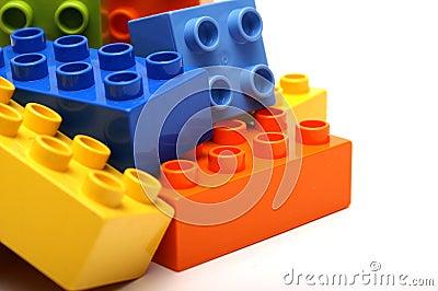 Lego blocks Stock Photo