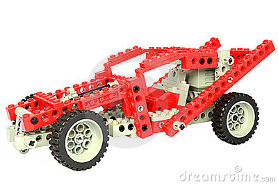 Lego Race Car Editorial Stock Photo