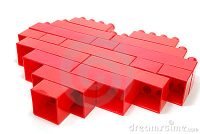 Lego Red Heart
