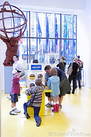 The LEGO Store - New York City Editorial Stock Image
