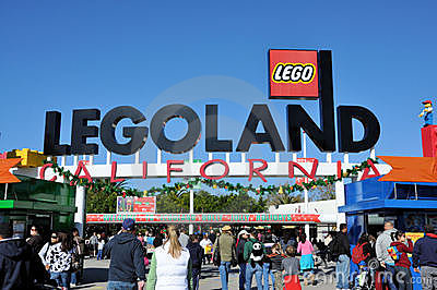 Legoland Editorial Photo