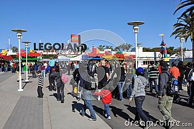 Legoland entrance Editorial Stock Photo