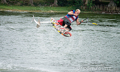 Legoland Florida Water Skiing Shows Editorial Photography