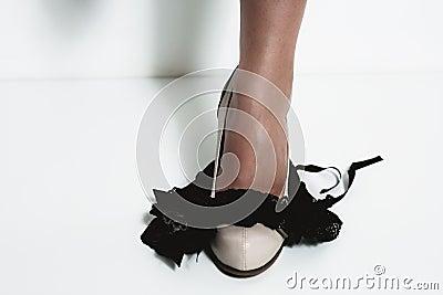Legs and panties