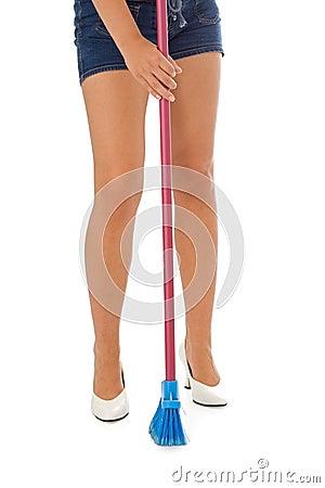 Legs sweeping