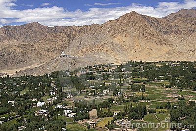 Leh - Capital of Ladakh, India