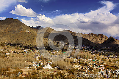 Leh city(city of gompas)