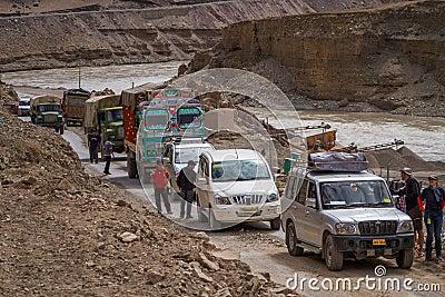 LEH, INDIA-SEPTEMBER 5: Ladakh People5, 2011 in Leh, India. In